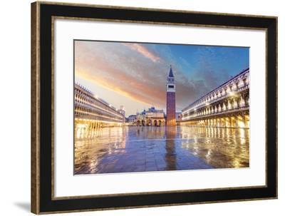 San Marco Square, Venice Italy.-TTstudio-Framed Photographic Print