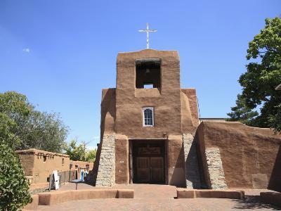 San Miguel Mission Church, Oldest Church in the United States, Santa Fe, New Mexico-Wendy Connett-Photographic Print