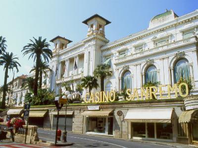 San Remo Casino, San Remo, Italy--Photographic Print
