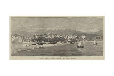 San Remo, Italy, the Winter Residence of the Empress of Russia--Giclee Print