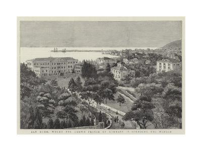 San Remo, Where the Crown Prince of Germany Is Spending the Winter--Giclee Print