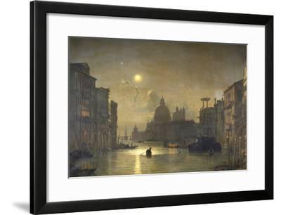 San Salute, Venise-Friedrich Nerly-Framed Giclee Print
