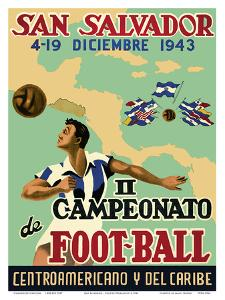San Salvador - Il Campeonato de Foot-Ball (2nd Championship Soccer) December 4-19, 1943