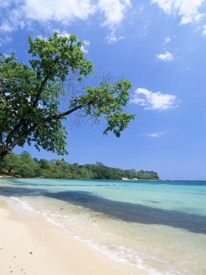 San San Beach, Port Antonio, Jamaica, West Indies, Central America-Sergio Pitamitz-Photographic Print