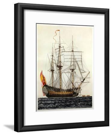 San Telmo, Spanish ship, 17th century