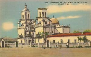 San Xavier de Bac Mission, Tucson, Arizona