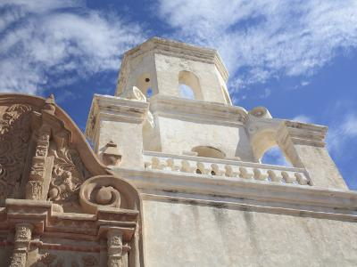San Xavier Del Bac Mission, Tucson, Arizona, United States of America, North America-Wendy Connett-Photographic Print