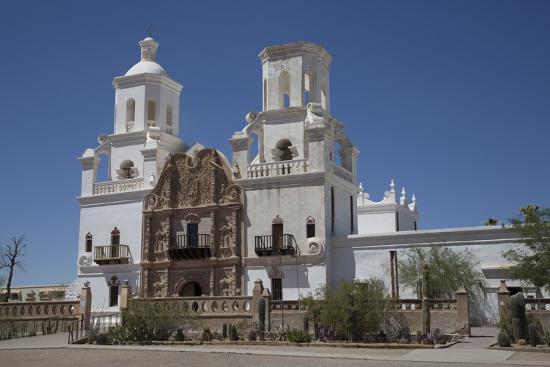 San Xavier Del Bac Mission-Richard Maschmeyer-Photographic Print