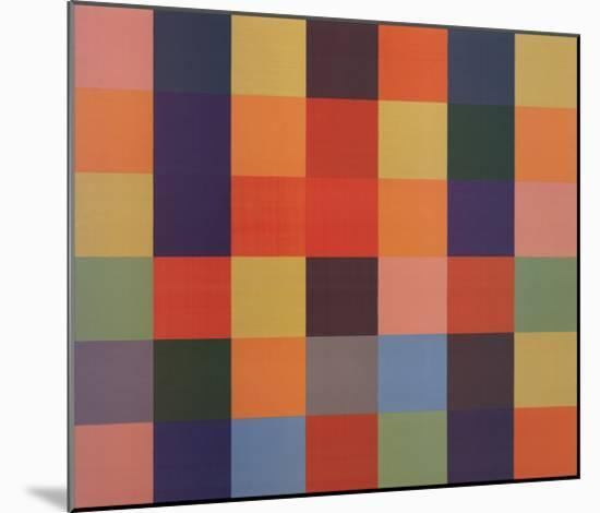 Sanary-Ellsworth Kelly-Mounted Art Print