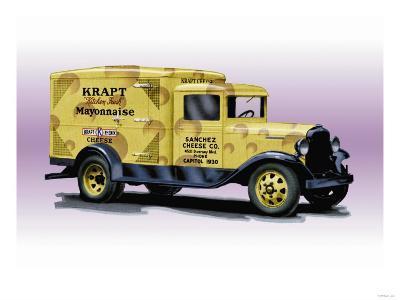 Sanchez Cheese Truck--Art Print