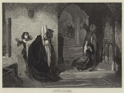Sanctuary, from the Late Royal Academy Exhibition-William Holyoake-Giclee Print