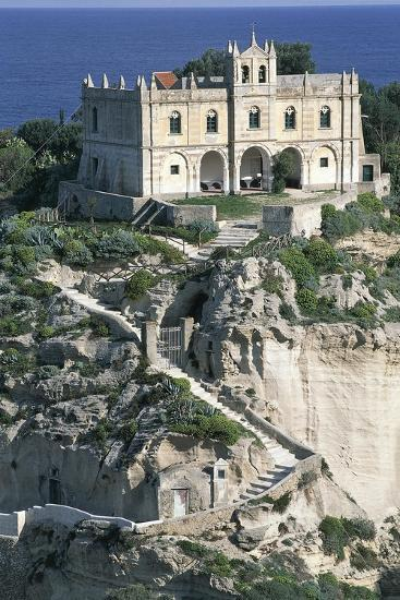 Sanctuary of Santa Maria of Island, Tropea, Calabria, Italy--Giclee Print
