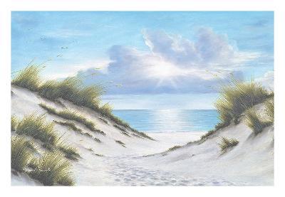 Sand and Sea-Diane Romanello-Art Print