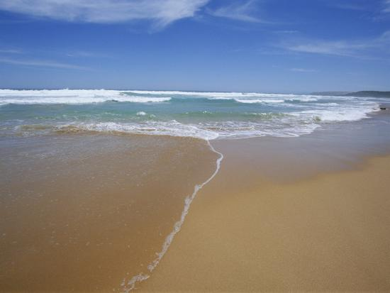 Sand and Surf, Waitpinger Beach, Fleurieu Peninsula, South Australia, Australia, Pacific-Neale Clarke-Photographic Print