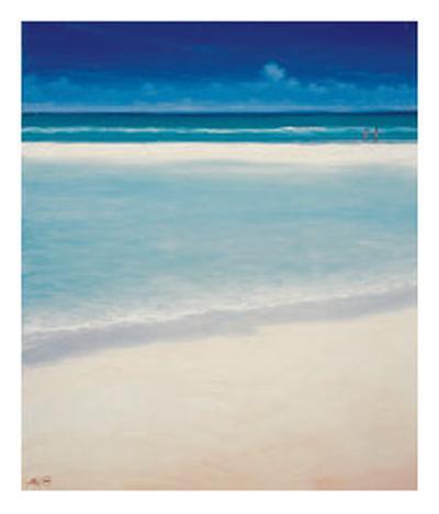 Sand Bar 2-Derek Hare-Collectable Print
