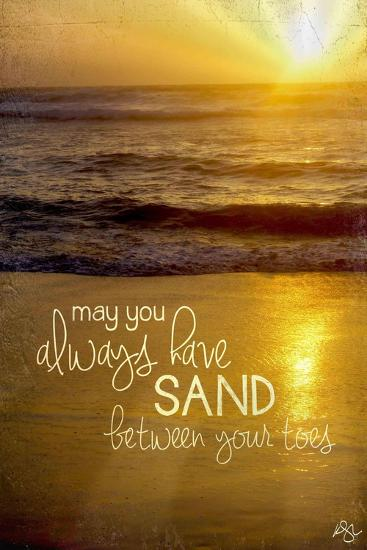 Sand Between Your Toes 2-Kimberly Glover-Giclee Print
