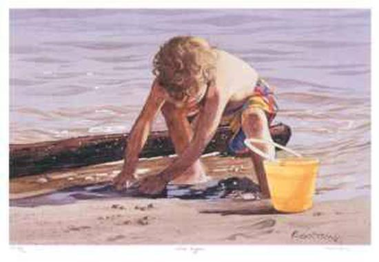 Sand Digger--Collectable Print