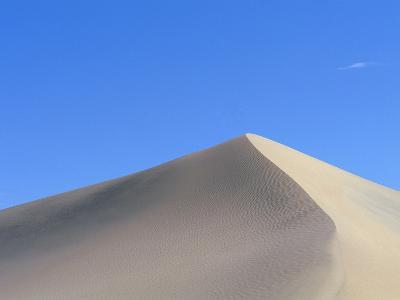 Sand Dune and Blue Sky-Paul Souders-Photographic Print