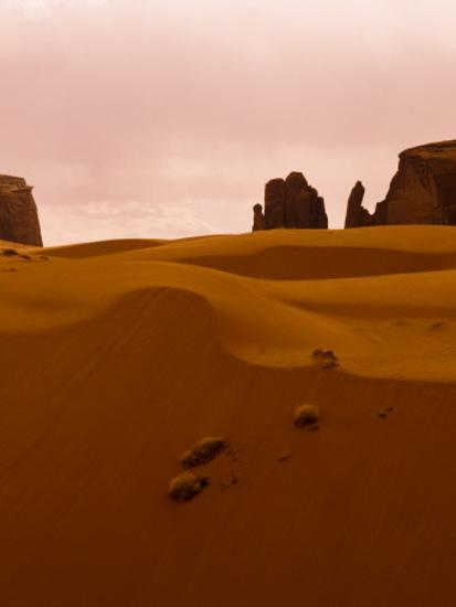 e2a8c4d1902d8 Sand Dune, Monument Valley, Navajo Tribal Park, Arizona-Ralph Lee Hopkins-