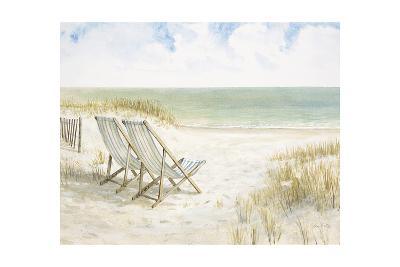 Sand Dunes and Sunshine-Arnie Fisk-Art Print