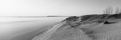 Sand Dunes at the Lakeside, Sleeping Bear Dunes National Lakeshore, Lake Michigan, Michigan, USA--Photographic Print
