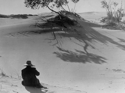 Sand Dunes Bordering Lake Michigan-Wallace Kirkland-Photographic Print