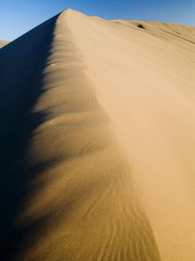 Sand Dunes, Desert, Dunhuang, Gansu, China-Porteous Rod-Photographic Print