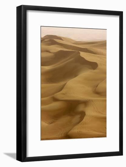 Sand Dunes, Dubai, United Arab Emirates, Middle East-Balan Madhavan-Framed Photographic Print