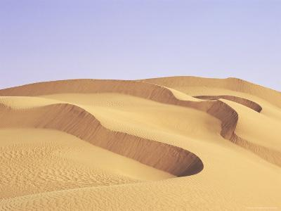 Sand Dunes, Erg Murzuq, Fezzan, Sahara Desert, Libya, North Africa, Africa-Sergio Pitamitz-Photographic Print