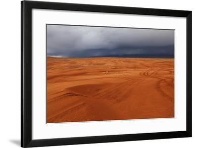 Sand Dunes in Saint George, Utah, USA-Jill Schneider-Framed Photographic Print