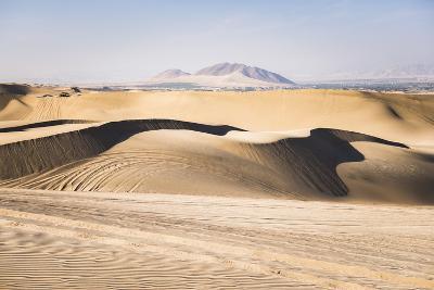 Sand Dunes in the Desert at Huacachina, Ica Region, Peru, South America-Matthew Williams-Ellis-Photographic Print
