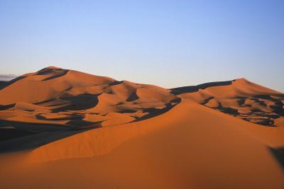Sand Dunes in the Desert Near Merzouga, Morocco-Rebecca Hale-Photographic Print