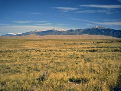 Sand Dunes of Great Sand Dunes National Park and Preserve in the Sangre De Cristo Mountains, CO-Bernard Friel-Photographic Print