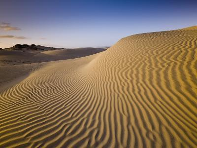 Sand Dunes of Isla Magdalena-Bob Krist-Photographic Print