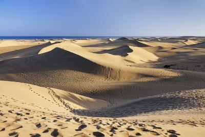 Sand Dunes of Maspalomas, Maspalomas, Gran Canaria, Canary Islands, Spain, Atlantic, Europe-Markus Lange-Photographic Print