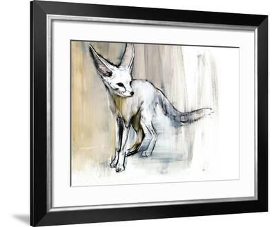 Sand Fox, 2009-Mark Adlington-Framed Giclee Print
