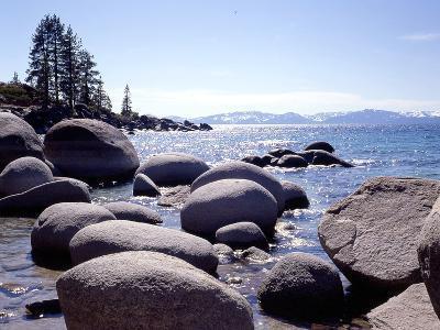 Sand Harbor Beach, Lake Tahoe, Nevada '88-Monte Nagler-Photographic Print