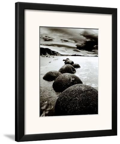 Sand Harbor II-Monte Nagler-Framed Art Print