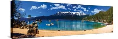 Sand Harbor Lake Tahoe--Stretched Canvas Print
