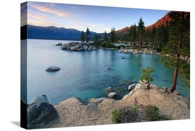 Sand Harbor, Lake Tahoe--Stretched Canvas Print