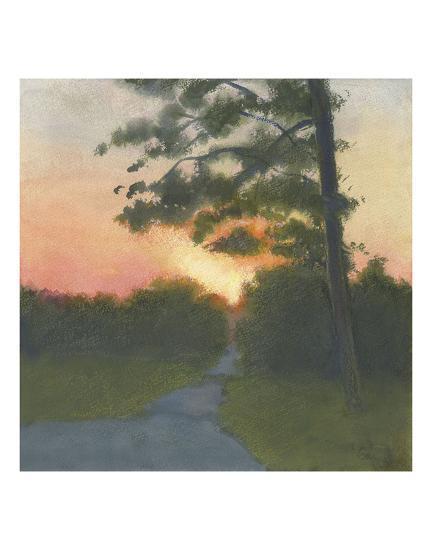 Sand Hill Sunset II-Elissa Gore-Art Print