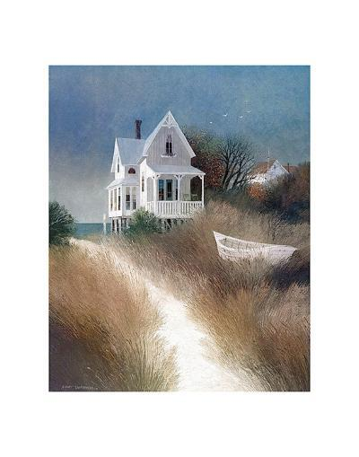 Sand Path-Albert Swayhoover-Art Print