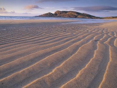 Sand Patterns on the Beach Coll Inner Hebrides, Scotland, UK-Niall Benvie-Photographic Print