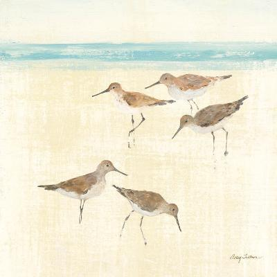 Sand Pipers Square II-Avery Tillmon-Art Print