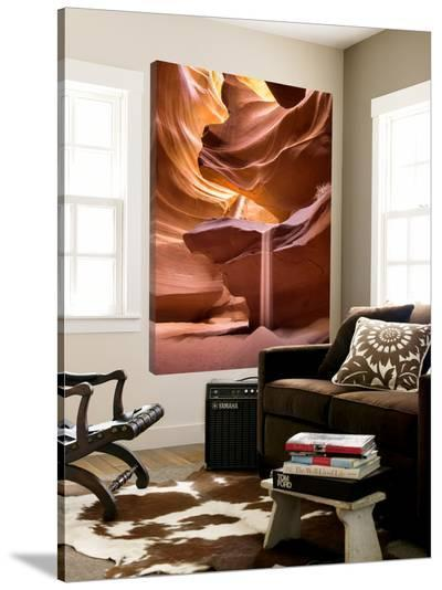 Sand pours through Antelope Canyon-Nick Jackson-Loft Art