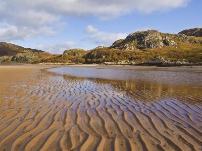Sand Ripple Patterns on Little Gruinard Beach, Gruinard Bay, Wester Ross, Northwest Scotland-Neale Clarke-Photographic Print