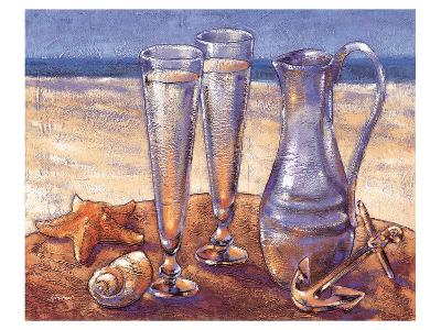 Sand Sun Sea-Bjoern Baar-Art Print
