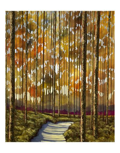 Sand Sun Trough-Shawn Meharg-Art Print