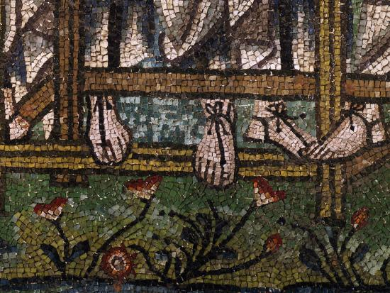 Sandaled Feet of Three Angels--Photographic Print