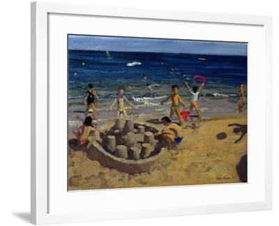 Sandcastle, France, 1999-Andrew Macara-Framed Giclee Print